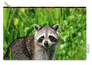 Wetlands Racoon Bandit Carry-all Pouch