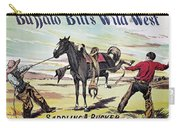 W.f. Cody Poster, C1885 Carry-all Pouch