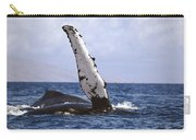 Whale Fin Above Water Carry-all Pouch