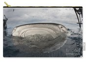 Whale Shark Feeding By Fishing Carry-all Pouch