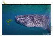 Whale Shark Feeding On Fish, La Paz Carry-all Pouch