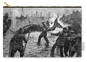 Whaling At Shore, 1875 Carry-all Pouch