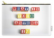 What Is Your Asthma Iq Carry-all Pouch