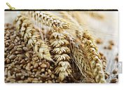 Wheat Ears And Grain Carry-all Pouch by Elena Elisseeva