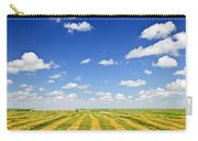 Wheat Farm Field At Harvest Carry-all Pouch