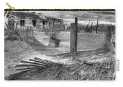 Where Does The Story End Monochrome Carry-all Pouch