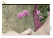 Where Have All The Flowers Gone Carry-all Pouch by Angelina Vick