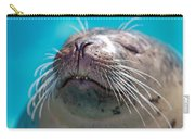 Whiskers Of A Seal Carry-all Pouch