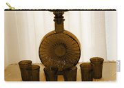 Whiskey Decanter In Sepia Carry-all Pouch