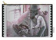 Whisky Postage Stamp Print Carry-all Pouch