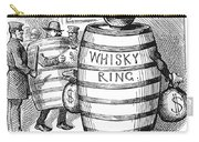 Whisky Ring Cartoon, 1875 Carry-all Pouch
