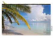 Whispering Palm On The Tropical Beach Carry-all Pouch
