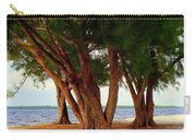Whispering Trees Of Sanibel Carry-all Pouch by Karen Wiles