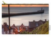 Whitby Steps - Orange Glow Carry-all Pouch