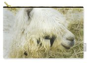 White Alpaca Photograph Carry-all Pouch