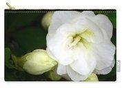 White Azalea  Carry-all Pouch