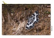 White-banded Black Moth Carry-all Pouch