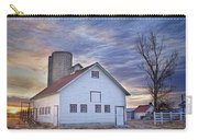 White Barn Sunrise Carry-all Pouch