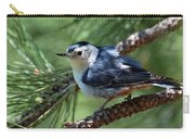 White Breasted Nuthatch Carry-all Pouch