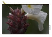 White Bromeliad Flowers Carry-all Pouch