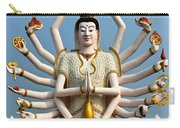 White Buddha Carry-all Pouch