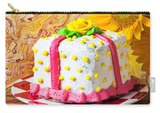 White Cake Carry-all Pouch
