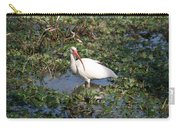 White Crane Carry-all Pouch