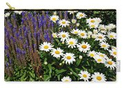 White Daisies Carry-all Pouch