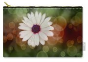White Daisy In A Sunset Carry-all Pouch