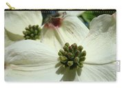 White Dogwood Flowers Art Prints Floral Carry-all Pouch