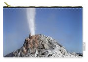 White Dome Geyser Erupting, Upper Carry-all Pouch