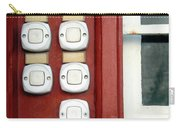 White Doorbells Carry-all Pouch