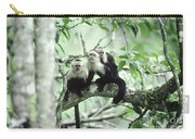 White-faced Capuchins Carry-all Pouch