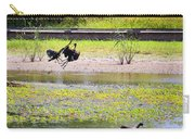 White Faced Ibis 15 Minute War Carry-all Pouch
