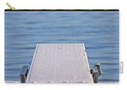 White Frost Diving Board Carry-all Pouch