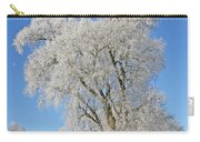 White Frost Tree Carry-all Pouch