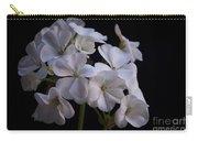 White Geranium Carry-all Pouch
