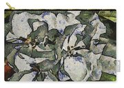 White Geraniums   -- Vangogh Carry-all Pouch