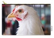 White Hen Carry-all Pouch