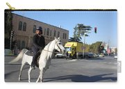 White Horse In Bethlehem Street Carry-all Pouch