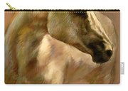 White Horse Carry-all Pouch