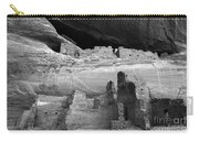 White House Ruin Canyon De Chelly Monochrome Carry-all Pouch