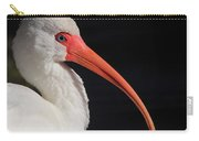 White Ibis Portrait Carry-all Pouch