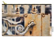 White Iron Gate Details Carry-all Pouch