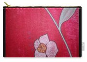 White Lotus Top Carry-all Pouch