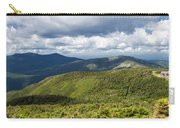 White Mountains New Hampshire Panorama Carry-all Pouch by Stephanie McDowell