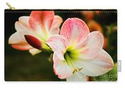 White N Pink Carry-all Pouch