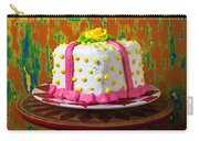 White Present Cake Carry-all Pouch