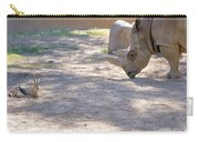 White Rhino And Ibex Carry-all Pouch