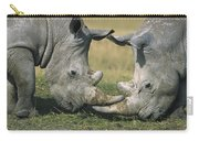White Rhinoceros Ceratotherium Simum Carry-all Pouch
